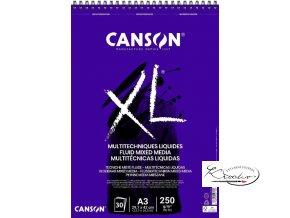 Blok XL Fluid Mixed Media A4