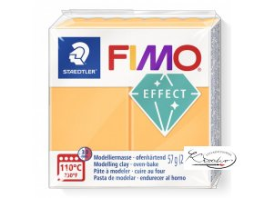 Fimo Effect Neon - 401 Neon oranžová