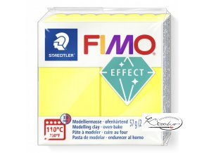 Fimo Effect Neon - 101 Neon žlutá