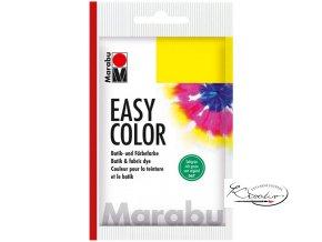 EASY COLOR MARABU 25 G - 067 Sytě zelená