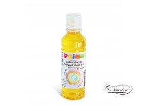 Barevné čiré lepidlo PRIMO  240 ml - žluté