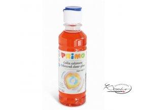 Barevné čiré lepidlo PRIMO 240 ml - červené