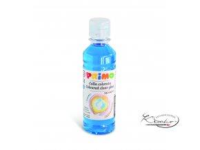Barevné čiré lepidlo PRIMO 240 ml - modré