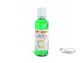 Barevné čiré lepidlo PRIMO 240 ml - zelené