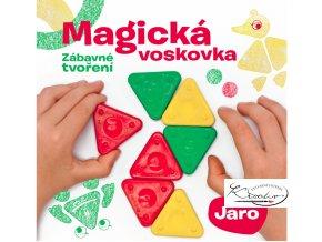 Kniha – Magická voskovka - Zábavné tvoření -  JAROkniha magicka voskovka zabavne tvoreni jaro 1
