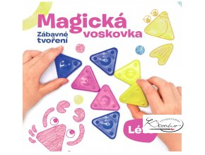 Kniha – Magická voskovka - Zábavné tvoření - LÉTOkniha magicka voskovka zabavne tvoreni leto 1