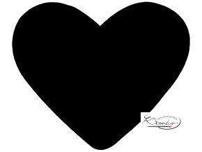 Děrovač červený 15mm - srdce
