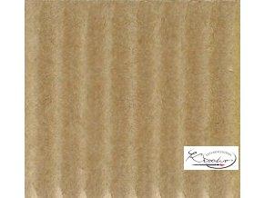 Karton 50x70 cm 300g vlnitý  chamois