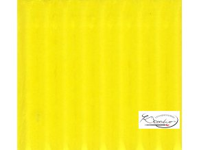 Karton 50x70 cm 300g vlnitý světle žlutý