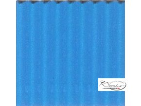 Karton 50x70 cm 300g vlnitý  světle modrý