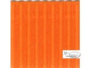 Karton 50x70 cm 300g vlnitý  oranžový