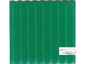 Karton 50x70 cm 300g vlnitý  středně zelený