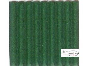 Karton 50x70 cm vlnitý  tmavě zelený