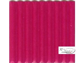 Karton 50x70 cm 300g vlnitý  růžový