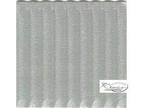Karton 50x70 cm 300g vlnitý  stříbrný