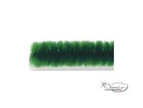 Žinilkový drát 10ks - Tmavě zelený