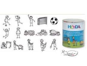 Razítka 15ks - Fotbal + staveniště