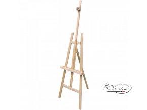 Dřevěný malířský stojan A - smrkový