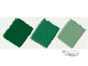Hobby Acryl matt tmavě zelená 59 ml