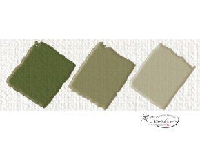 Hobby Acryl matt oliva zelená 59 ml