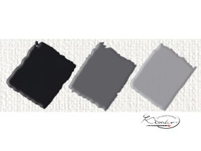 Hobby Acryl matt černá 59 ml