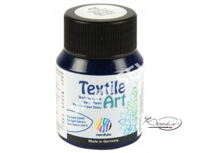 Textile Art 59 ml - 416 Modrá tmavá