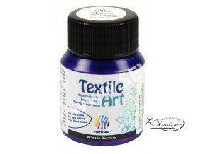 Textile Art 59 ml - 820 Fialová Metalická