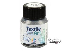 Textile Art 59 ml - 826 Stříbrná glitrová