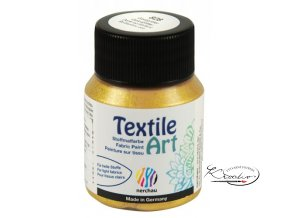 Textile Art 59 ml - 828 Zlatá glitrová