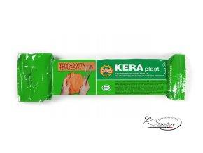 Keramická modelovací hmota Keraplast terakota 300g