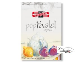 Blok pop Pastel Mix barev 245x345mm
