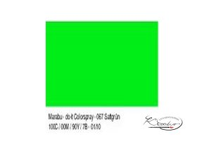 Barva ve spreji Do-It Marabu 150 ml - 067 sytě zelený