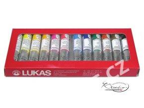 Sada olejových barev LUKAS 12x20ml