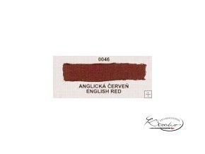 Olejová barva č. 0046 anglická červeň 20ml