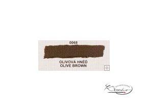 Olejová barva č. 0068 olivová hněď 20ml