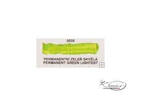 Olejová barva č. 0035 permanentní zeleň skvělá 20ml