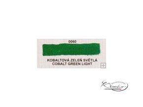 Olejová barva č. 0060 kobaltová zeleň světlá 20ml