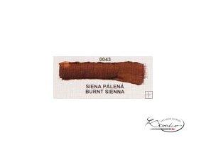Olejová barva č. 0043 siena pálená 20ml