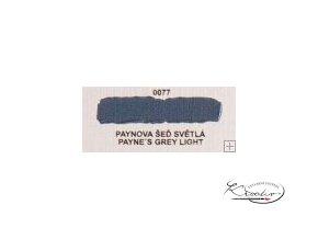 Olejová barva č. 0077 paynova šeď světlá 20ml