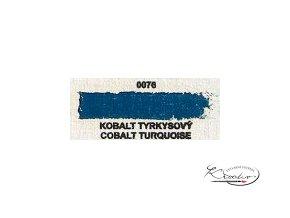 Olejová barva č. 0076 kobalt tyrkysový 20ml