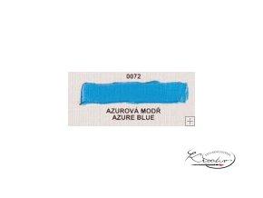Olejová barva č. 0072 azurová modř 20ml