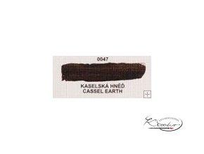 Olejová barva č. 0047 kaselská hněď 20ml