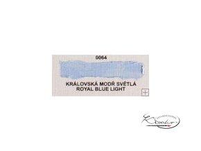Olejová barva č. 0064 královská modř světlá 20ml