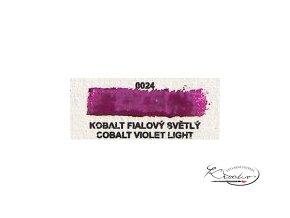 Olejová barva č. 0024 kobalt fialový světlý 20ml