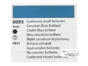 Olejová barva č. 0093 coelinová modř brilantní 20ml
