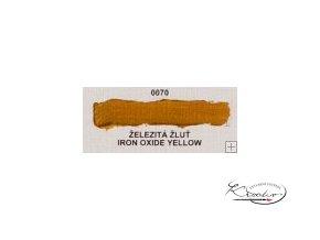 Olejová barva č. 0070 železitá žluť 20ml