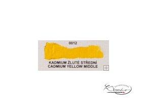 Olejová barva č. 0012 kadmium žluté střední 20ml