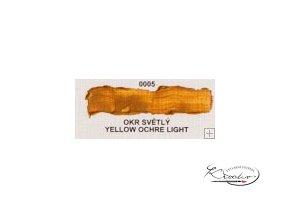 Olejová barva č. 0005 okr světlý 20ml
