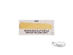 Olejová barva č. 0057 neapolská žluť světlá 20ml