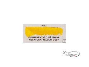 Olejová barva č. 0053 permanentí žluť tmavá 20ml